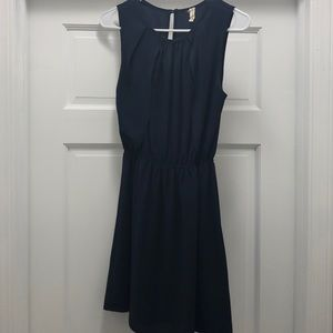 Navy blue sleeveless dress size S